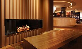 Keio Plaza Hotel Commercial Fireplaces Ethanol Burner Idea