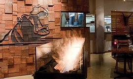 Hippo Creek African Grill Commercial Fireplaces 生物乙醇燃烧器 Idea