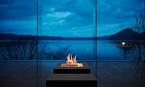 Landscape Fireplace Ideas