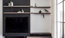 Webbs Joinery Hospitality Fireplaces Ethanol Burner Idea