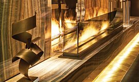 Paramount Hotel Hospitality Fireplaces Ethanol Burner Idea