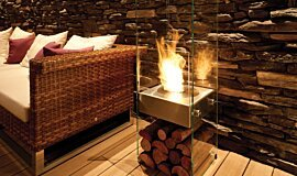 Stilhof See-Through Fireplaces Designer Fireplace Idea