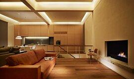 Personal Villa Traditional Fireplaces Fireplace Insert Idea