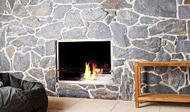 EcoOutdoor See-Through Fireplaces Fireplace Insert Idea