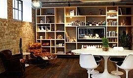Raw Salon See-Through Fireplaces Fireplace Insert Idea