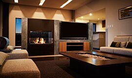 Nozomi Views See-Through Fireplaces Fireplace Insert Idea
