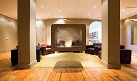 The Chapel See-Through Fireplaces Fireplace Insert Idea