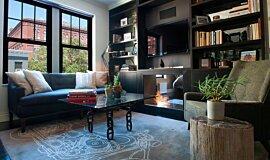 New York Loft See-Through Fireplaces Fireplace Insert Idea