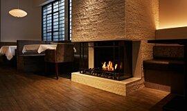 Casa Bianca Cafe Traditional Fireplaces Fireplace Insert Idea