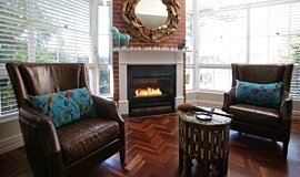 Private Residence Traditional Fireplaces Fireplace Insert Idea