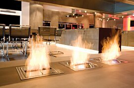 BK5 Ethanol Burner - In-Situ Image by EcoSmart Fire