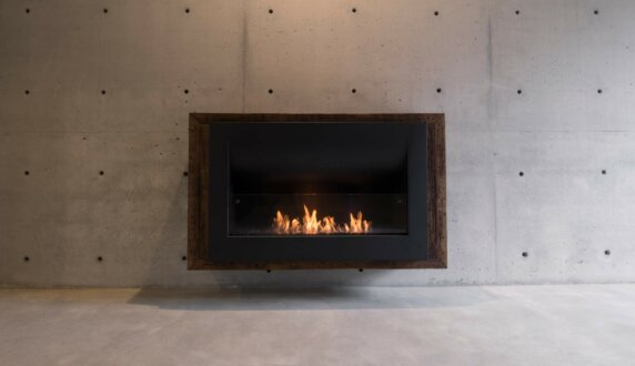 Max Brenner - Firebox 1100CV Curved Fireplace by EcoSmart Fire