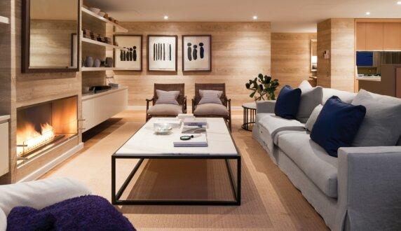 Beachfront Penthouse - Firebox 1200SS Premium Fireplace by EcoSmart Fire
