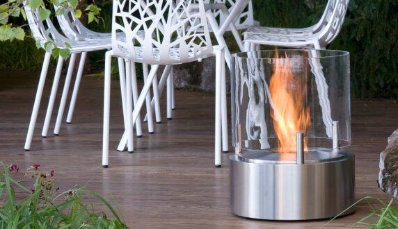 Chelsea Flower Show - Glow Fire Pit by EcoSmart Fire