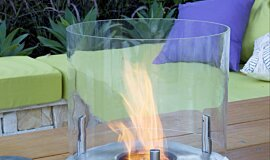 Melbourne International Flower and Garden Show Landscape Fireplaces Ethanol Burner Idea