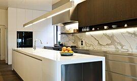 Celebrity Chef's Kitchen  Kitchen Interior Designs Fireplace Insert Idea