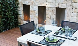 Melbourne International Flower and Garden Show Landscape Fireplaces Fireplace Insert Idea