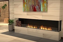 Bay Fireplace - In-Situ Image by EcoSmart Fire