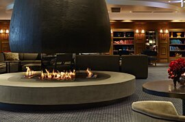 XL700 Indoor Fireplace - In-Situ Image by EcoSmart Fire
