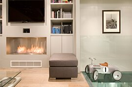 Firebox 1200SS Premium Fireplace - In-Situ Image by EcoSmart Fire