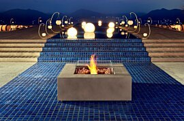 Base Freestanding Fireplace - In-Situ Image by EcoSmart Fire