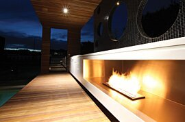 XL900 Indoor Fireplace - In-Situ Image by EcoSmart Fire