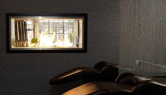 Raw Hair Salon - Firebox 1200DB Fireplace Insert by EcoSmart Fire
