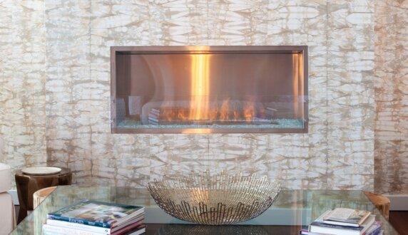 W Residence - Firebox 1200SS Fireplace Insert by EcoSmart Fire