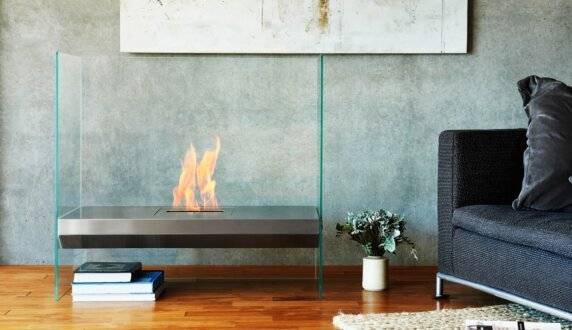 Merkmal Japan - Igloo Designer Fireplace by EcoSmart Fire