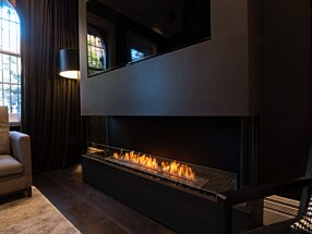 Private Residence - Flex 68BY Built-In Fireplace by EcoSmart Fire