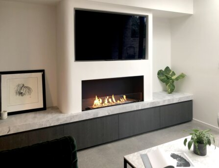Single Sided Fireplaces