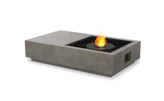 Manhattan 50 Fire Table - Ethanol - Black / Natural by EcoSmart Fire