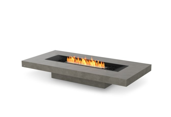 Gin 90 (Low) Fire Table - Ethanol - Black / Natural by EcoSmart Fire