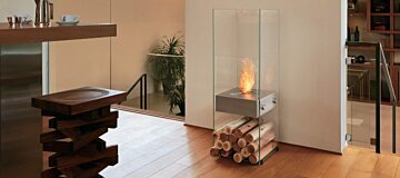 Glass Fireplaces