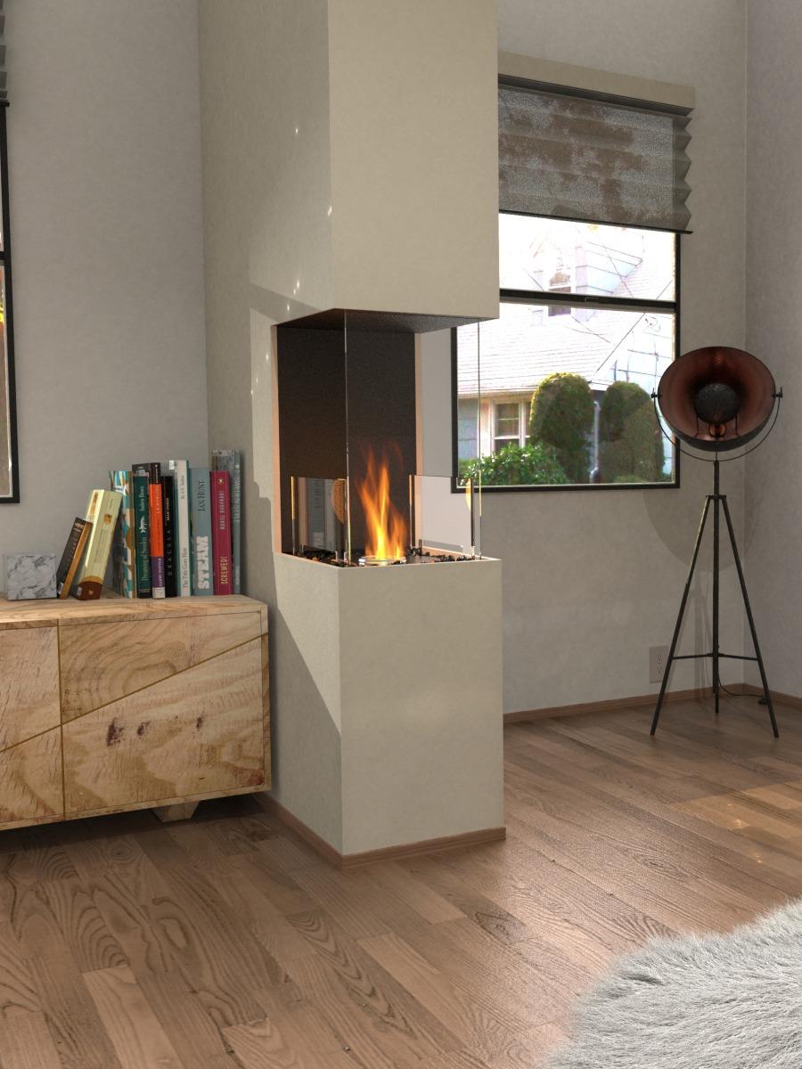 EcoSmart Fire Flex 18 Peninsula Fireplace Insert